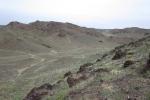Mongolei: Hügelige Halbwüste