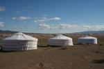 Mongolei: 30 Kilometer weiter herrscht schönstes Wetter