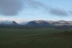 Mongolei: Wolken im Altai-Gebirge