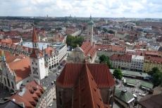 München - Blick von St. Peter