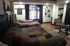 Nepal - Hotelzimmer in Bhaktapur