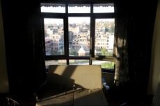 Nepal - Blick aus dem Hotelzimmer in Bhaktapur