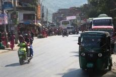 Nepal - Auf dem Weg nach Pokhara