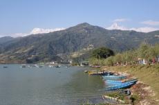 Nepal - Phewa-See in Pokhara