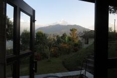 Nepal - Hananoie, Blick aus dem Zimmer
