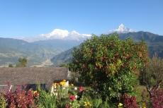 Nepal - Annapurna-Massiv von der Hananoie-Lodge