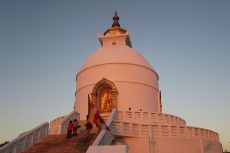 Nepal - World Peace Pagoda, Pokhara