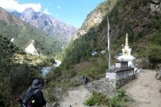 Nepal - Stupa zwischen Lukla und Phakding