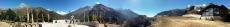 Nepal - Panorama am Aussichtspunkt von Namche Bazar