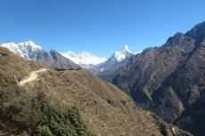 Nepal - Auf dem Weg zum Everest View Hotel
