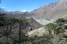 Nepal - Auf dem Weg nach Khumjung