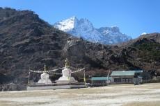 Nepal - Stupa in Khumjung