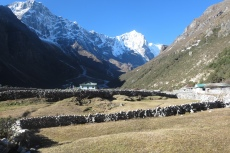 Nepal - Thame am Morgen