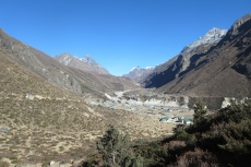 Nepal - Blick auf Thametang