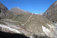 Nepal - Turbinenhaus bei Thame