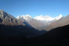 Nepal - Everest-Panorama auf dem Weg nach Kongde