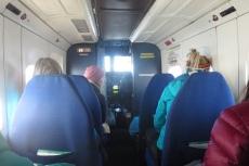 Nepal - Auf dem Flug von Lukla nach Kathmandu