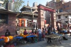Nepal - Verkaufsstände in Kathmandu
