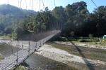 Nepal - Die erste Hängebrücke