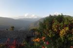 Nepal - Blick aufs Annapurna-Massiv von der Hananoie-Lodge