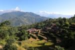 Nepal - Siedlung mit Landwirtschaft