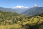 Nepal - Blick aufs Annapurna-Massiv