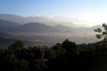 Nepal - Blick auf Pokhara, im Hintergrund der Manaslu (8163m)