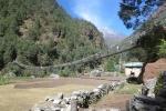 Nepal - Hängebrücke über den Dudh Kosi