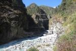 Nepal - Die Hillary-Brücke (oben natürlich)