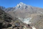 Nepal - Blick zurück auf Khumjung