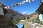 Nepal - Stupa bei Samshing