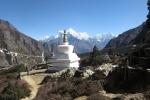 Nepal - Stupa beim Kloster Thame