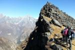 Nepal - Kurz vor dem Gipfel des Sherpa-Peak