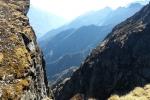Nepal - Blick ins Tal Richtung Lukla