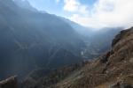 Nepal - Blick Richtung Lukla