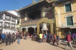 Nepal - An der Bodnath-Stupa