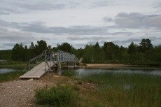 Nordkap, Hurtigruten und Lofoten: Bei Idivuoma (Schweden)