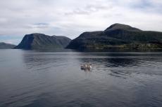 Nordkap, Hurtigruten und Lofoten: Im Sørøysund
