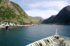 Nordkap, Hurtigruten und Lofoten: Øksfjord