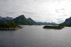 Nordkap, Hurtigruten und Lofoten: Kurz vor dem Raftsund
