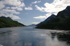Nordkap, Hurtigruten und Lofoten: Engstelle im Raftsund