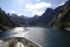 Nordkap, Hurtigruten und Lofoten: Trollfjord