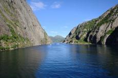 Nordkap, Hurtigruten und Lofoten: Im Trollfjord