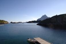 Nordkap, Hurtigruten und Lofoten: Ausblick vom Hotel