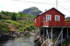 Nordkap, Hurtigruten und Lofoten: Fischerhütte in Å