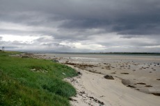 Nordkap, Hurtigruten und Lofoten: Strand am Grunnførfjord