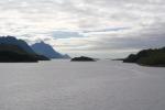 Nordkap, Hurtigruten und Lofoten: Einfahrt in den Raftsund
