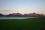 Nordkap, Hurtigruten und Lofoten: Vollmond über dem Sundklakkstraumen