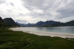 Nordkap, Hurtigruten und Lofoten: Sandstrand bei Justnes