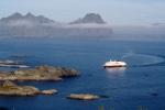 Nordkap, Hurtigruten und Lofoten: Hurtigruten vor Svolvær